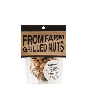 FROM FARMのGRILLED NUTS(メイプルシロップ&山椒)