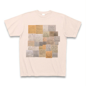 【通販限定】テルログモザイクTシャツ(ライトピンク)