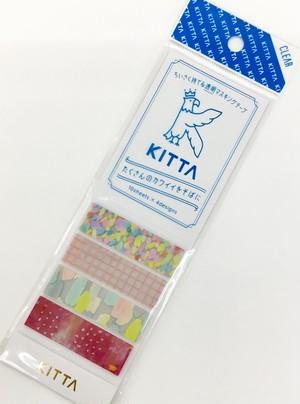 KITTA 透明マスキングテープ ドロップ