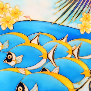 原画 Colorful Tropics 15