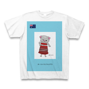 民族衣装Tシャツ オーストラリアxコアラ