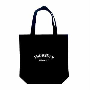 THURSDAY - ARCH TOTE BAG (Black)