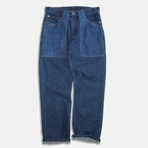 WCH 505's Remake Fatigue Denim Jeans #B
