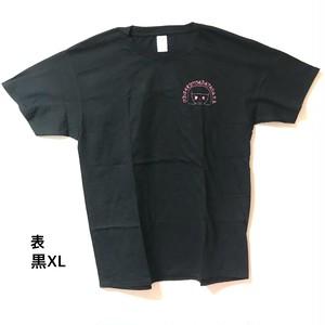 衿衣オリジナルTシャツ(黒)