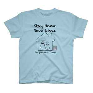 【Garage Sale】 Stay Home Tシャツ