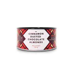 Sibuアーモンド&シナモン ミルクチョコレートカバー(カカオ45%)