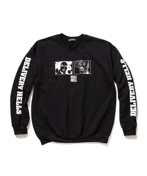 """""""HELL"""" SWEAT BLACK 19SS-DH-05"""