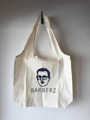 BARBERZ 刈り上げおじさん コットンショッピングバッグ