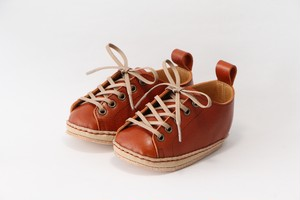 """first shoes """"HELLO"""" ( red brown )"""