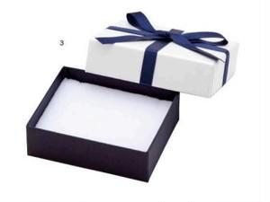 アクセサリー紙箱 リボン付きフェザーボックス 12個入り 7343-REP