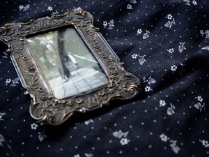 AMERICA 1900's antique mini  photo frame