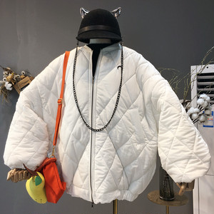 【アウター】ファッションカジュアルショート丈ジッパーダウンコート23039721
