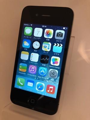 iPhone4 32GB ブラック(SoftBank)【1098】