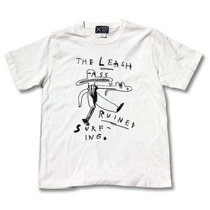 "Artist Collab T-Shirts ""LEASH RUINED SURFING"""