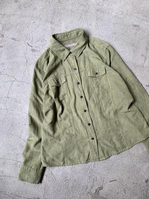 vintage fake suede shirt