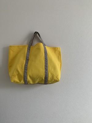 BASIC TOTE (M)  レモン×アイスグレー