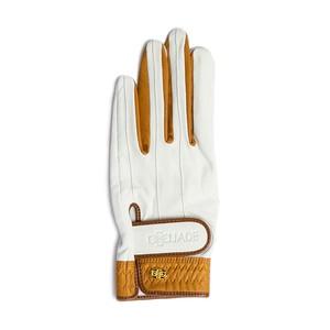 Elegant Golf Glove white-brandy < 左手 >