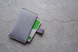 hirari CARD CASE (GRAY)