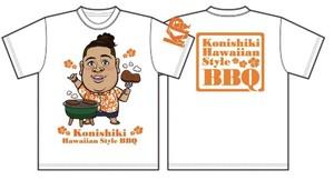 『BBQ Tシャツ』☆オレンジ☆