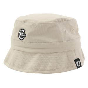 EXAMPLE OE LOGO BUCKET HAT / BEIGE