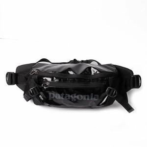 patagonia (パタゴニア) ウエストバッグ ウエストポーチ ボディバッグ ショルダーバッグ ロゴ ブラック Black Hole Waist Pack 5L  [全国送料無料] r015199