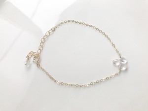 14kgf Rose quartz bracelet