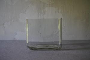 角型ガラス鉢