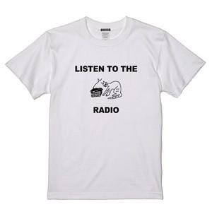 RADIO CAT TEE (ホワイト)