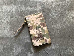 Button Works ボタンワークス Camouflage Card Case-Mitchell
