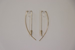 Arch -Gold- / Earrings