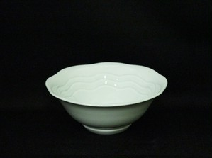 【井上康徳作】青白磁波文 鉢(小)