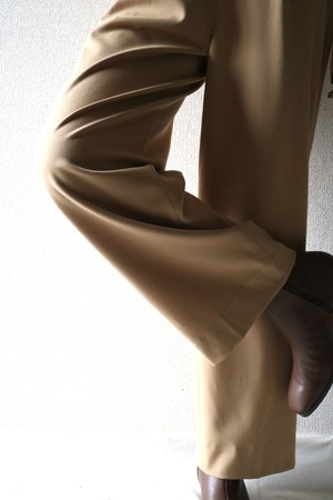 Vintage beige slacks