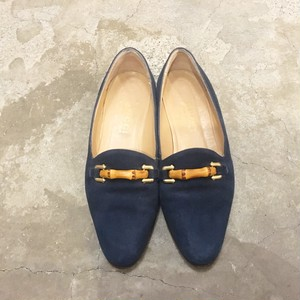 【SALE】GUCCI bamboo bit Loafer