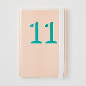 クリアーカバー付きDAILY NOTE 「11」