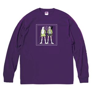 Long Sleeve T-shirt(Desinged by Nah) [パープル]
