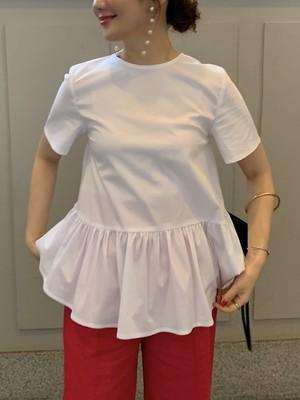 tulips blouse / white 6/5 21:00 ~ 再販 (即納)