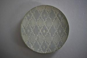 マルヤマウエア|三島6寸平皿㉝