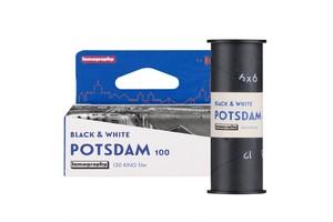 【 120 モノクロネガ 】 Lomography ( ロモグラフィー )  Potsdam Kino B&W ISO100