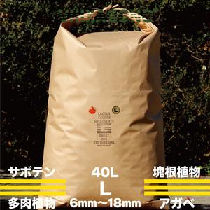 GREAT MIX CULTURE SOIL 【LARGE】40L 6mm-18mm サボテン、多肉植物、コーデックス、パキプス、ホリダス、エケベリア、ハオルチア、ユーフォルビア、アガベを対象とした国産プレミアム培養土