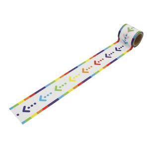 矢印(45mm×3m巻)YJ3-09 デザイン養生テープ