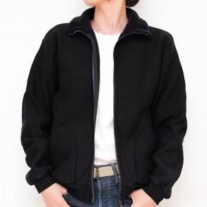 【毛布のまま、出かけたい】モフ ジップアップジャケット / ブラック / WOMENS / MF190100