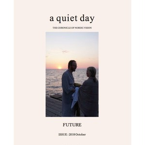 BOOK / ライフスタイルマガジン a quiet day Season10: 2018 October