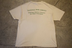USED National Park Service Tshirt made in USA T0475