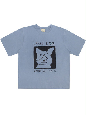 【Mogu Takahashi】T SHIRT LOST DOG