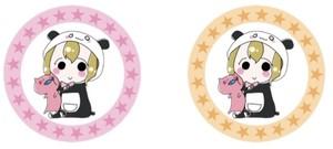 コースター ピンク×オレンジ 【残り4個で発売中止】