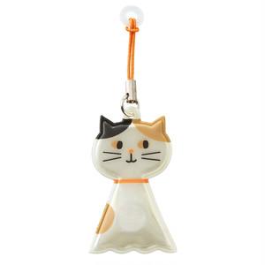 猫マグネットホルダー(傘ピタてるてるネコ)