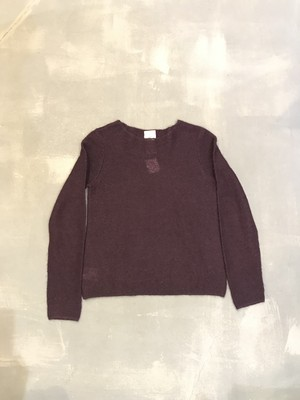 laura ashley Crew Neck Pull Over Sweater [2035]