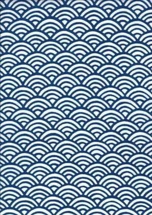 てぬぐい:青海波