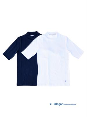Glacon グラソン モックネックTシャツ Mock Neck Tee