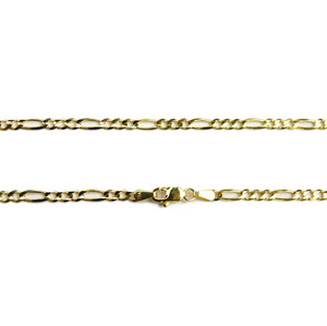 "14K 3mm 24"" Figaro Chain(24インチ)"